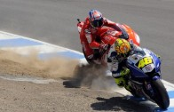 The Battle: Rossi vs Stoner à Laguna Seca