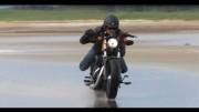 Trash Trip en Harley