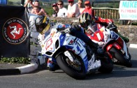 Action from the 2013 Isle of Man Steam Packet Company Southern 100 International Road Races (Glynne Lewis)