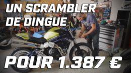 METZELER CUSTOM PROJECT ► UN SCRAMBLER DE OUF POUR 1.387 €
