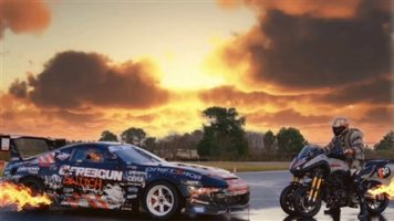 Drift Niken Turbo VS Toyota Supra